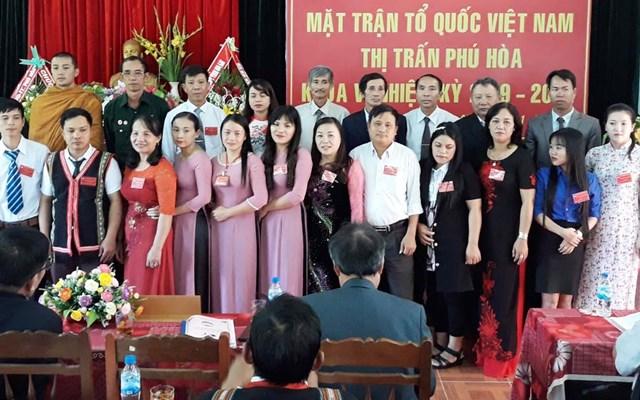 Đại hội điểm tại Mặt trận huyện Chư Pah (Gia Lai)