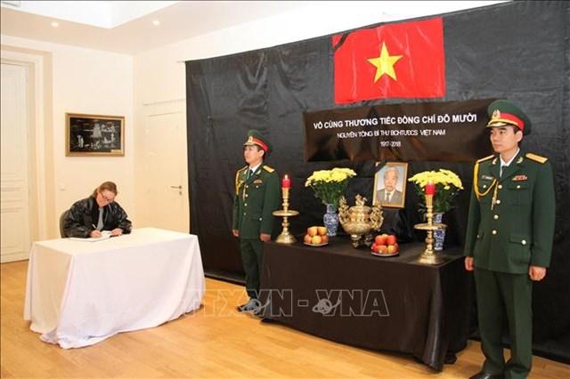 Các nước chia buồn với Đảng, Nhà nước và nhân dân Việt Nam - 5
