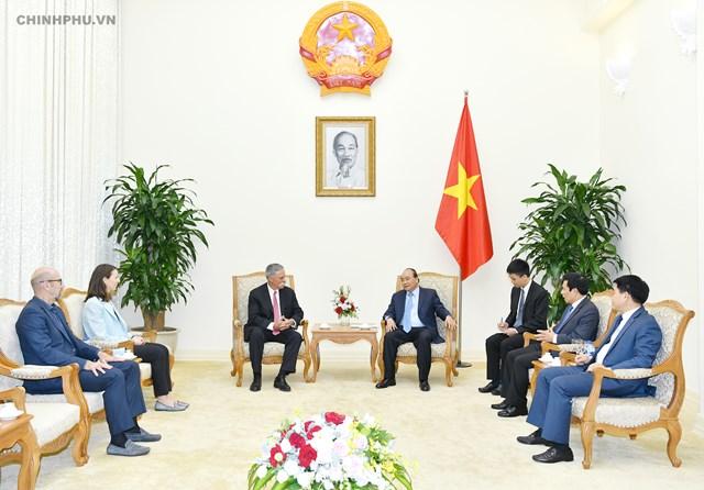Thủ tướng tiếp lãnh đạo Tập đoàn đưa Giải đua F1 vào Việt Nam - 1