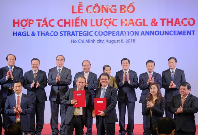 Thủ tướng hoan nghênh 'nhân duyên môn đăng hộ đối' Thaco-Hoàng Anh Gia Lai - 1