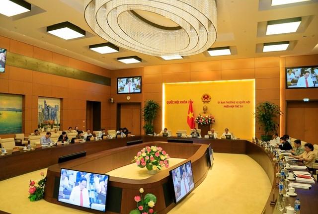 Góp ý dự thảo Báo cáo kiến nghị của cử tri tại kỳ họp thứ 7, Quốc hội khóa XIV - 6