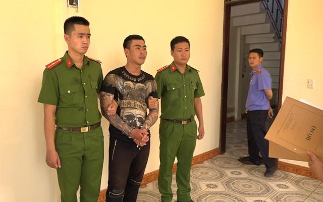 Bắt giam đối tượng truy nã ở Hà Nội vào Quảng Bình gây rối