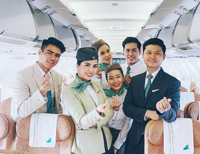 Hình ảnh đẹp của 'Phi đoàn hạnh phúc' Bamboo Airways - 7