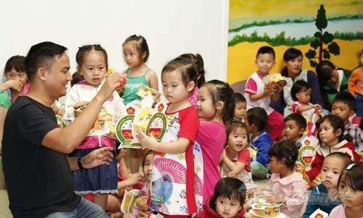 [Ảnh] Trẻ em dân tộc K'Ho đón Trung thu sớm - 1