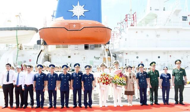Tàu Lực lượng bảo vệ bờ biển Nhật Bản thăm Đà Nẵng