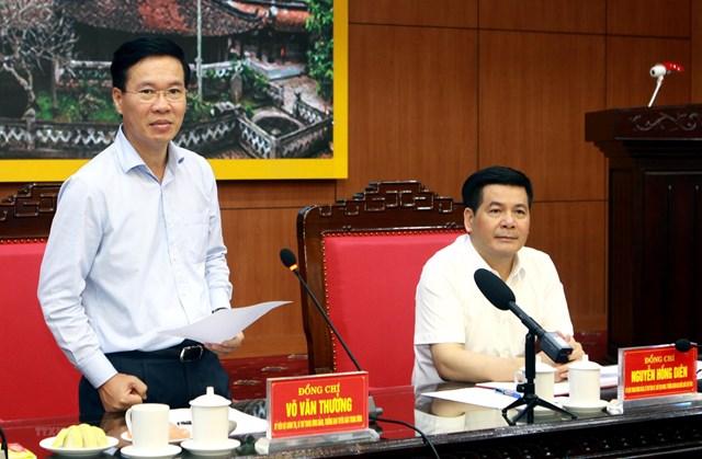 Bộ Chính trị kiểm tra công tác tổ chức, cán bộ tại Thái Bình - 1