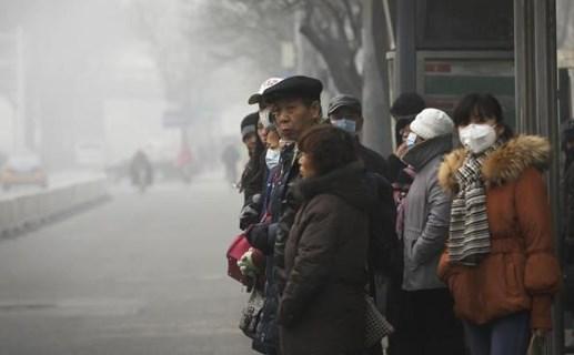 Báo động đỏ về ô nhiễm không khí ở phía Bắc Trung Quốc