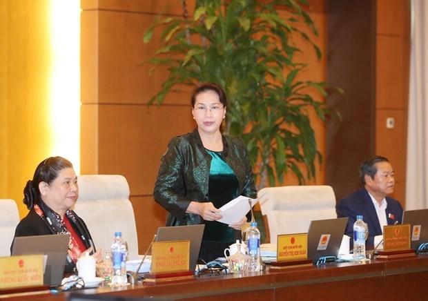 Bế mạc Phiên họp thứ 32 của Ủy ban Thường vụ Quốc hội