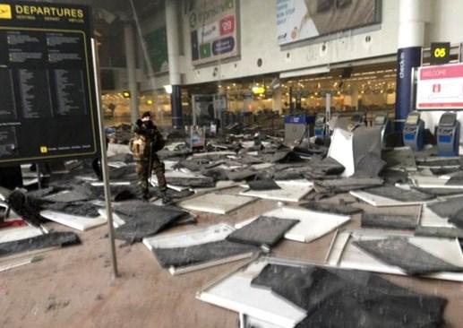Liên tiếp nổ tại Thủ đô Bỉ, 23 người thiệt mạng - 4