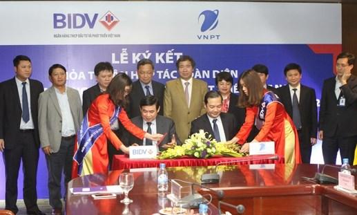 BIDV và VNPT ký thỏa thuận hợp tác toàn diện
