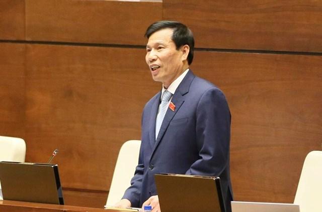 Quốc hội chất vấn Bộ trưởng Bộ VHTTDL Nguyễn Ngọc Thiện - 2