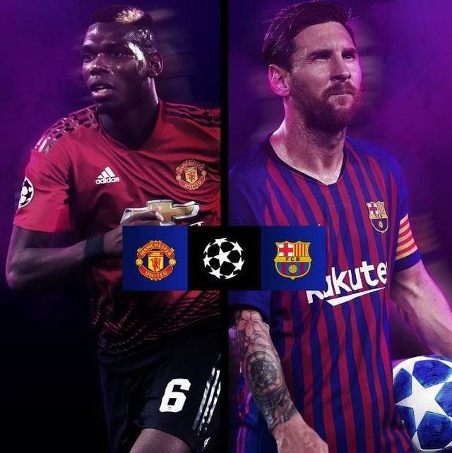 Barcelona đối đầu Man Utd ở tứ kết Champions League - 2
