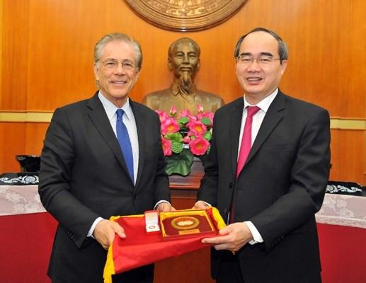 Chủ tịch Nguyễn Thiện Nhân tiếp Viện trưởng Viện nghiên cứu Malik - Thụy Sỹ - 4