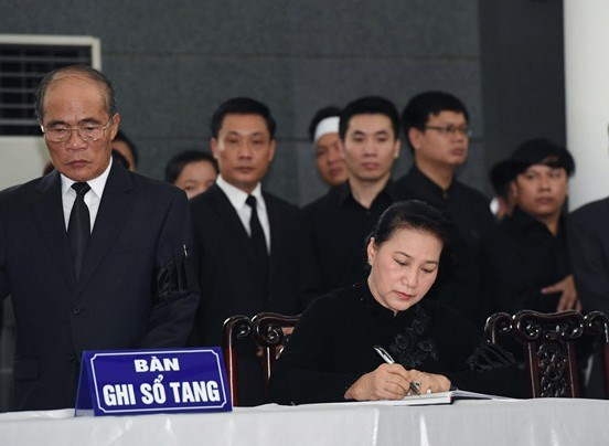 Lễ viếng Chủ tịch nước Trần Đại Quang - 12