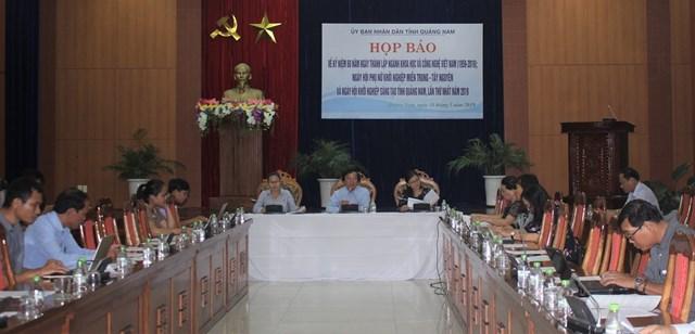 Kỷ niệm 60 năm ngày thành lập ngành khoa học và công nghệ Quảng Nam
