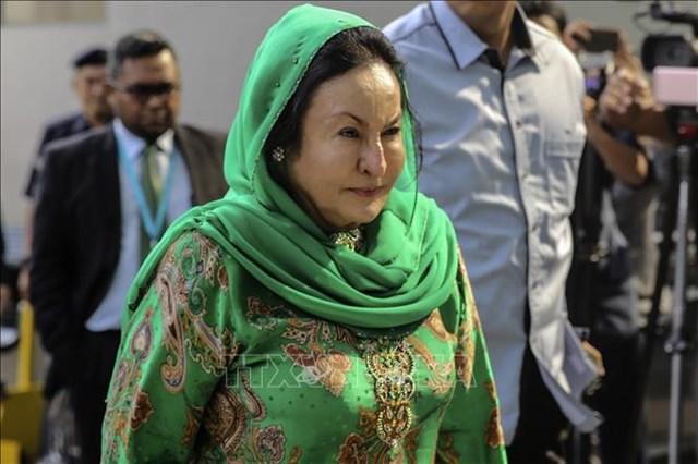 Vợ cựu Thủ tướng Malaysia Najib Razak bị thẩm vấn