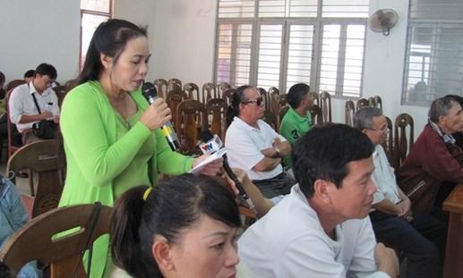 Đà Nẵng: Dân đối thoại với chính quyền về xây bãi đậu xe trên công viên
