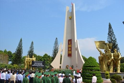 Đăk Lăk: An táng 15 hài cốt liệt sĩ hy sinh ở Campuchia