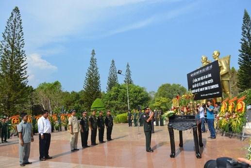 Đăk Lăk: An táng 15 hài cốt liệt sĩ hy sinh ở Campuchia - 1