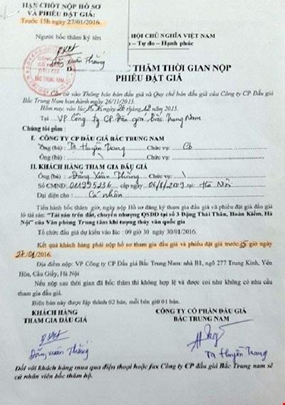 """Đấu giá đất """"vàng"""": Người của Bộ Tài nguyên&Môi trường bị kiện ra tòa - 1"""
