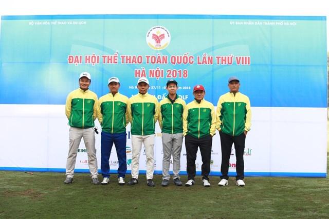 Đại hội Thể thao Toàn quốc: Trần Lê Duy Nhất và Tăng Thị Nhung đứng đầu Bảng xếp hạng môn golf - 1