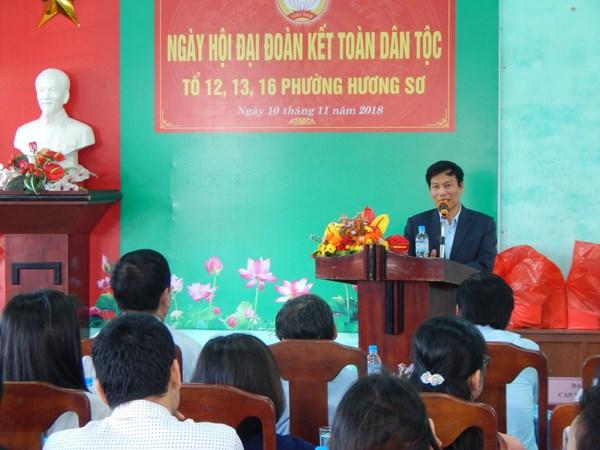 Người dân Hương Sơ hân hoan vào Hội
