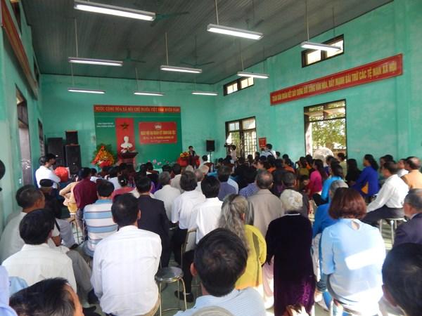 Người dân Hương Sơ hân hoan vào Hội - 1