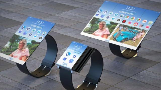 Ấn tượng chiếc smartwatch 'biến hoá' thành điện thoại, máy tính bảng - 1