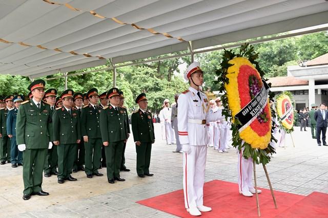 Lễ viếng Chủ tịch nước Trần Đại Quang - 15