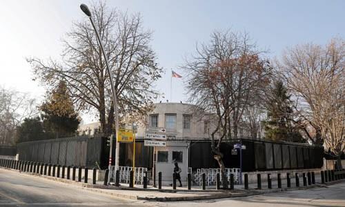 Nổ súng bên ngoài đại sứ quán Mỹ ở Thổ Nhĩ Kỳ