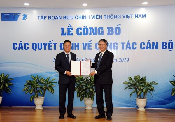 Ông Tô Dũng Thái được bổ nhiệm Phó Tổng Giám đốc Tập đoàn VNPT