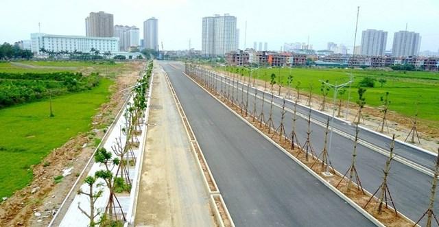 Toàn cảnh tuyến đường Xa La - Nguyễn Xiển qua Khu đô thị Mường Thanh Thanh Hà - 1