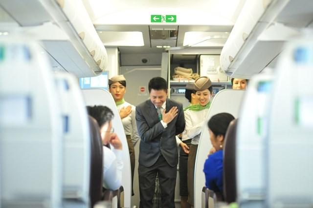 Hình ảnh đẹp của 'Phi đoàn hạnh phúc' Bamboo Airways