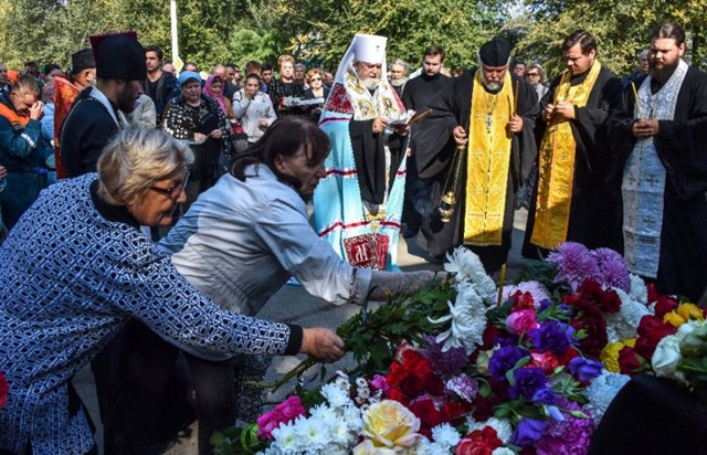 Crimea tưởng niệm các nạn nhân vụ thảm sát trường học