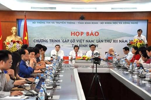 Gặp gỡ Việt Nam lần thứ XII: Hội tụ nhiều nhà khoa học nổi tiếng thế giới