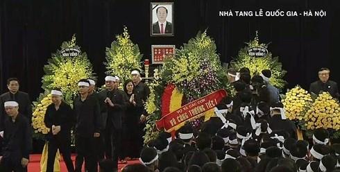 Lễ viếng Chủ tịch nước Trần Đại Quang - 3