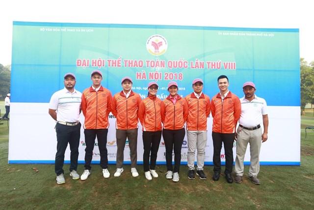 Đại hội Thể thao Toàn quốc: Trần Lê Duy Nhất và Tăng Thị Nhung đứng đầu Bảng xếp hạng môn golf
