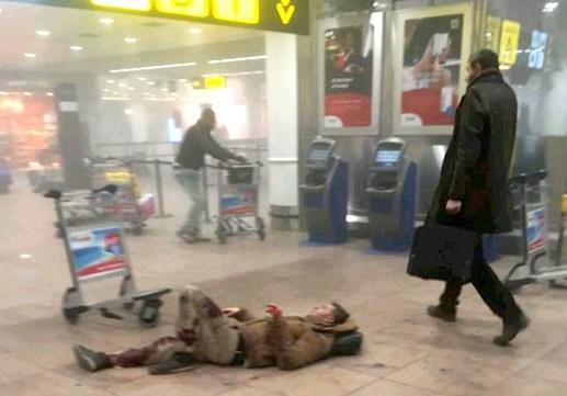 Liên tiếp nổ tại Thủ đô Bỉ, 23 người thiệt mạng - 3
