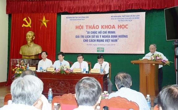 Di chúc Hồ Chí Minh: Giá trị lịch sử và ý nghĩa định hướng cho cách mạng Việt Nam