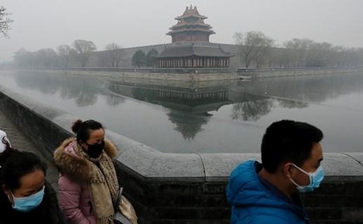 Khói bụi lan rộng Trung Quốc