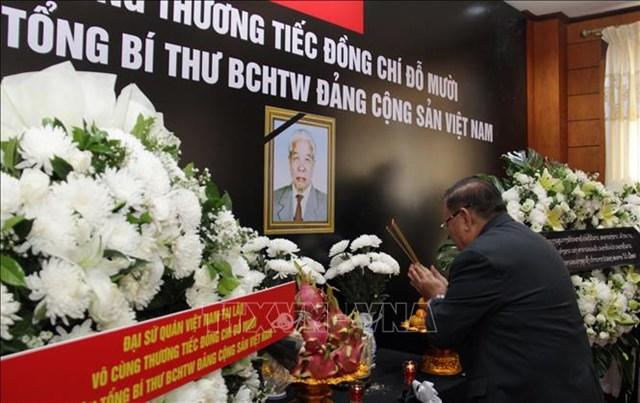 Các nước chia buồn với Đảng, Nhà nước và nhân dân Việt Nam - 2