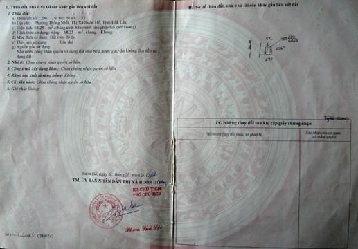 Lập khống hồ sơ, giả mạo chữ ký để cấp sổ đỏ?