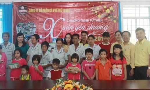 Mê Trang tổ chức chương trình thiện nguyện 'Xuân yêu thương' - 1