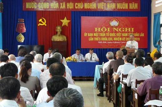 MTTQ tỉnh Đắk Lắk: Xây 102 nhà Đại đoàn kết trong 6 tháng đầu năm