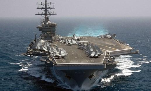 Mỹ điều thêm tàu sân bay sang Trung Đông đánh IS
