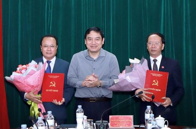 Ban Bí thư chuẩn y 2 Ủy viên Ban Thường vụ Tỉnh ủy Nghệ An