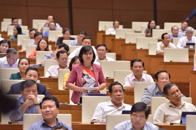 Quốc hội chất vấn Bộ trưởng Bộ VHTTDL Nguyễn Ngọc Thiện - 1