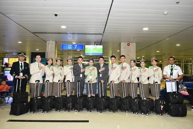 Hình ảnh đẹp của 'Phi đoàn hạnh phúc' Bamboo Airways - 6