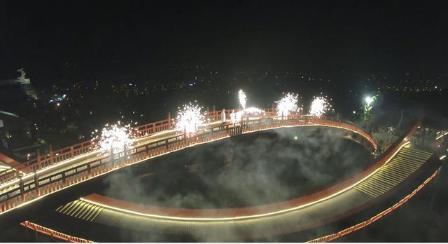 [ẢNH]Choáng ngợp với vẻ đẹp siêu lãng mạn của cây cầu hot nhất phim 'Cả một đời ân oán' - 1