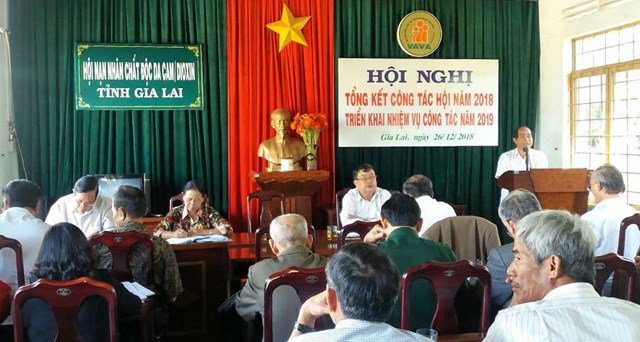 Gia Lai: Hơn 2,2 tỷ đồng hỗ trợ nạn nhân chất độc da cam